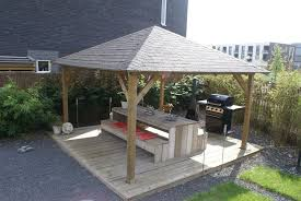 garden gazebo. Extremo Wooden Gazebo | 5.5m X Garden