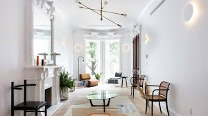Modern furniture and lighting Luxxu Historic Living Room With Modern Furniture And Lighting Founterior How To Renovate Townhouse And Nail The Oldnew Mix Architectural