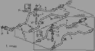hydraulic lines manual steering 17 ТРАКТОР john deere hydraulic lines manual steering 17 ТРАКТОР john deere 2140 tractor 2040s 2140 tractors 429999 european edition 70 hydraulic system 70