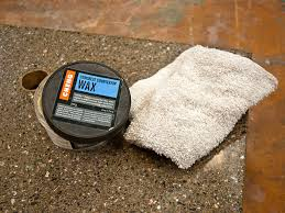 seal and maintain concrete countertop wax for soapstone countertops