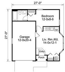 Garage With Apartment Plan Http Justgarageplanscom 3520single Garage With Apartment Floor Plans