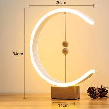 Đèn LED Treo Nam Châm Trang Trí Bàn Học Tập Ký Túc Xá Quà Tặng Sinh Nhật  Gia Đình Đèn Bàn 3000K Sạc USB Cân Bằng Hiện Đại Chống Trượt