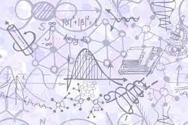 Science Physics Science Seamless Pattern With Sketch Elements Related To Physics