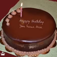 happy birthday chocolate cake with name. Plain Birthday Inside Happy Birthday Chocolate Cake With Name