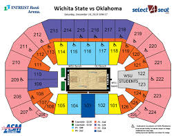 Wichita State Vs Oklahoma Intrust Bank Arena