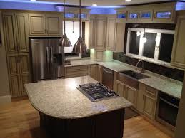 dark tile flooring chocolate brown kitchen cabinets light wood design awesome cream colored white cupboards contemporary