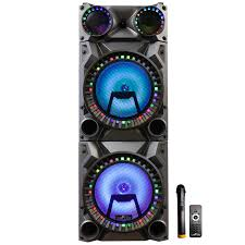 Befree Sound Triple 10 Subwoofer With Party Lights Befree Sound Rechargeable Bluetooth 12inch Double Subwoofer