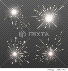 線香花火のイラスト素材 Pixta