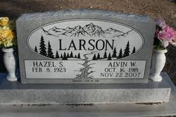 Alvin Wesley Larson (1918-2007) - Find A Grave Memorial