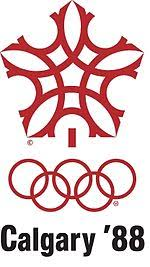 Зимние Олимпийские игры Википедия Эмблема Зимних Олимпийских игр 1988