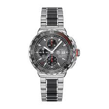 tag heuer formula 1 calibre 16 automatic chronograph men s ceramic tag heuer formula 1 calibre 16 automatic chronograph men s ceramic and stainless steel watch full size image