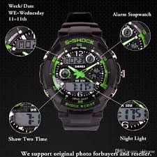 mens military watch sports watches 2 time zone digital led quartz mens military watch sports watches 2 time zone digital led quartz chronograph jelly silicone swim dive