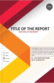 Cover Page For Word Document 50 Best Cover Page Template Design Microsoft Office Word
