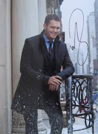 Michael Buble Hand Signed 8x6 Colour Promo Photo