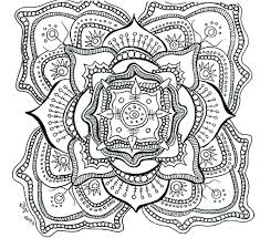 Elephant Mandala Coloring Pages Mangryinfo