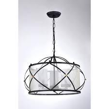 empty light orb 3 light orb wrought iron drum white shade chandelier ceiling fixture empty light empty light orb