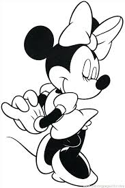 Free Minnie Mouse Printable Free Printable Mouse Coloring Pages For