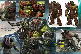 Scale Steps 37 Pictures Cosplay Orc Costume Warcraft Full with