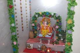 ganesh chaturthi decoration ideas for home small new home