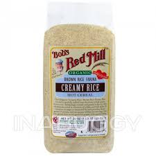 Bob's Red Mill <b>Organic Brown Rice Farina</b> Hot Cereal Creamy Rice ...