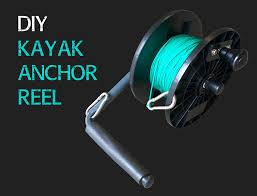 homemade kayak fishing anchor reel