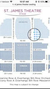St James Theatre Frozen Seating Chart Frozen Musical Broadway 2 Tickets Sat 9 15 18 2 Pm Right