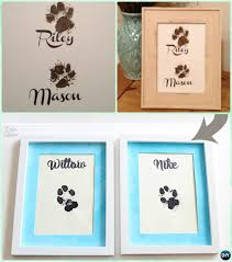 diy puppy paw print wall art instruction paw print craft ideas projects on wall art printing ideas with diy puppy paw print craft ideas projects instructions