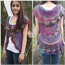 Crochet Circular Vest Pattern Free Stunning Ravelry Sophie's Universe Circular Vest Pattern By Jarta Jasmine