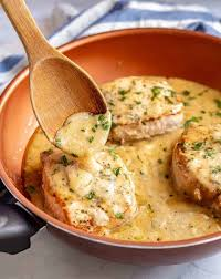 easy skillet pork chops with gravy