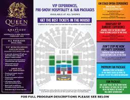 Queen Adam Lambert The Rhapsody Tour Teg Dainty