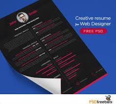 Template Resume Template Web Designer Best Of Creative Graphic
