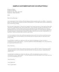 Customer Service Representative Cover Letter Sample Cover Letter