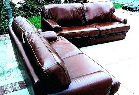 repair rip leather sofa leather couch rip repair tear how to in chair refinish fixing fix