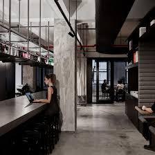 New York Office Interior Design Woods Bagots Self Designed New York Studio Features Exposed