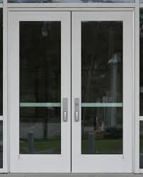 commercial glass double door texture