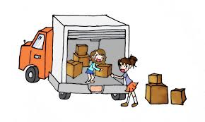 Image result for packing boxes cars clip art