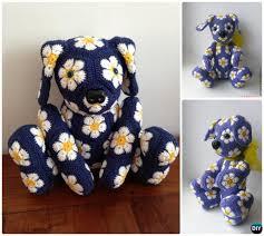 Free Crochet Dog Patterns Best DIY Crochet Amigurumi Puppy Dog Stuffed Toy Free Patterns