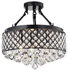 mina crystal semi flush mount contemporary flush mount ceiling semi flush mount crystal chandelier