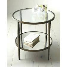 wood and glass end tables glasetal end tables round side table tables crate and wood and glass end tables