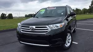2013 Toyota Highlander Base (4R54287A) (Certified) - YouTube