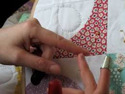 Hand Quilting 4 -- Thimbles - YouTube &  Adamdwight.com