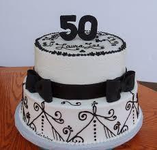 50 Years Cake Design