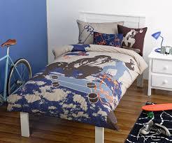 Skater Bedroom Skater Quilt Cover Set Kids Bedding Dreams
