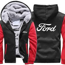 new High quality <b>S 5XL</b> Ford Hoodies Jacket <b>Winter Men Fashion</b> ...