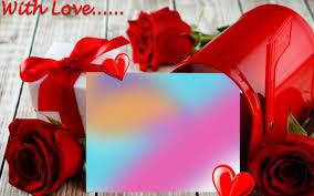 Love Photo Frames Photo Editing Wallpaper