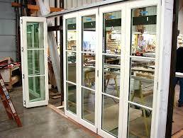 exterior bifold glass doors accordion glass doors exterior