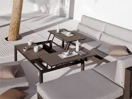 Coffee Table Turns Into Dining Table Glass Coffee Table Turns Into Dining Table Vidrian Intended For