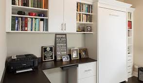 wall bed office. Murphy Bed Turns Office Into A Bedroom For Chicago Homeowner Wall B