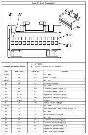 schematic diagram for 2004 silverado bose amp accessory voltage schematic diagram for 2004 silverado bose amp accessory voltage and front speaker or radio signal