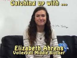 Catching up with Volleyball's Elizabeth Ahrens ... - YouTube